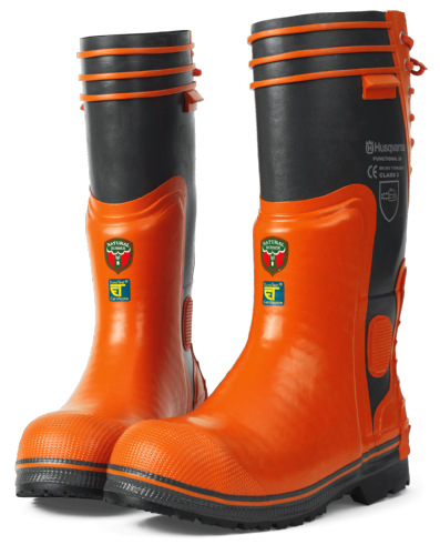 Genuine Husqvarna Functional 28 Rubber Chainsaw Boots (F28)